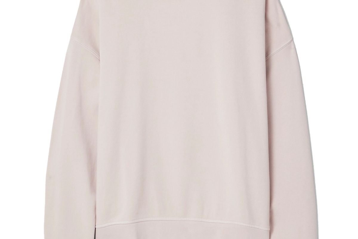 the upside alena cotton jersey sweatshirt