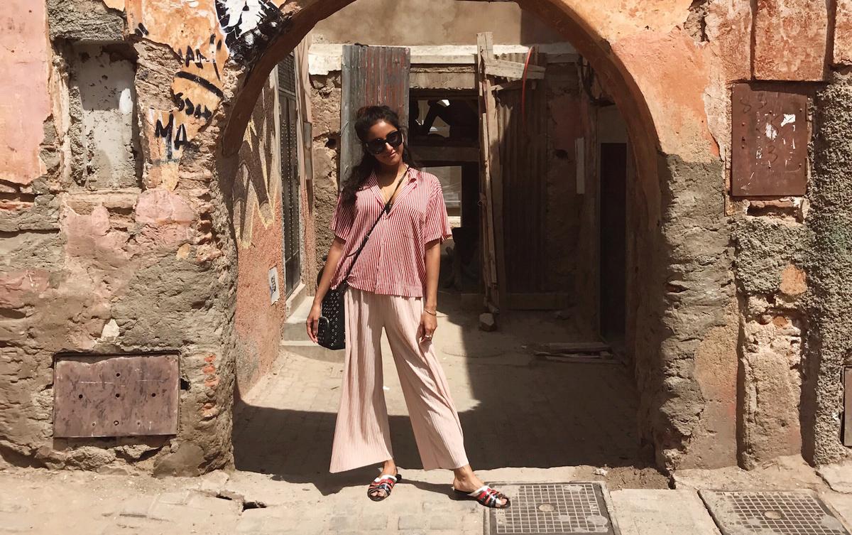 DJ Amrit's Moroccan Adventure Is Serious Goals