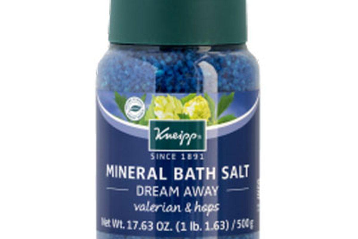 kneipp dream away mineral bath salt