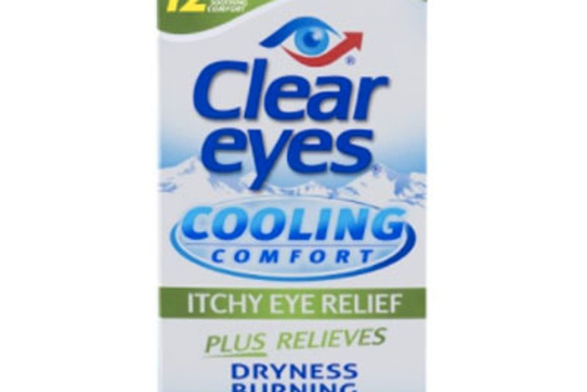 Cooling Comfort Itchy Eye Relief Eye Drops