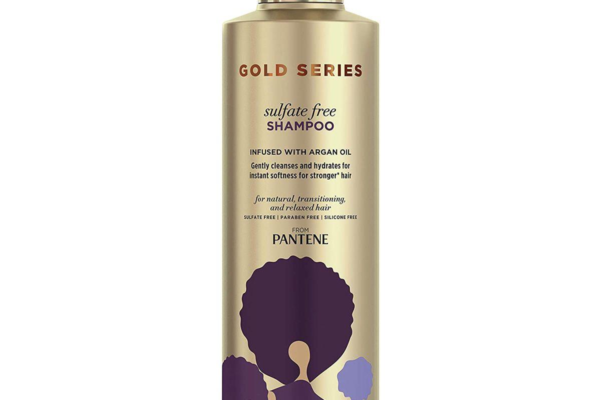 pantene gold series argan oil shampoo sulfate free
