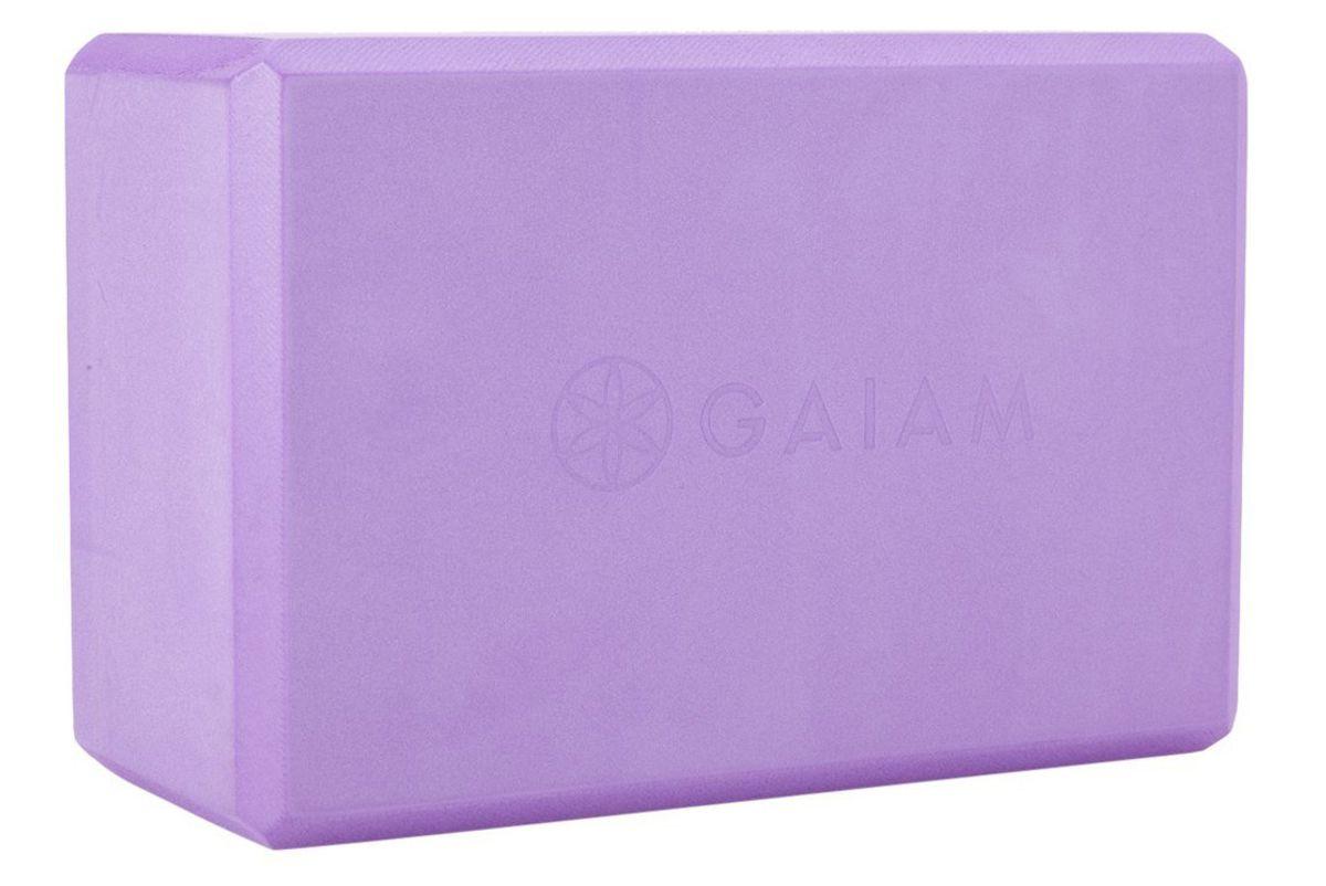 gaiam foam yoga block