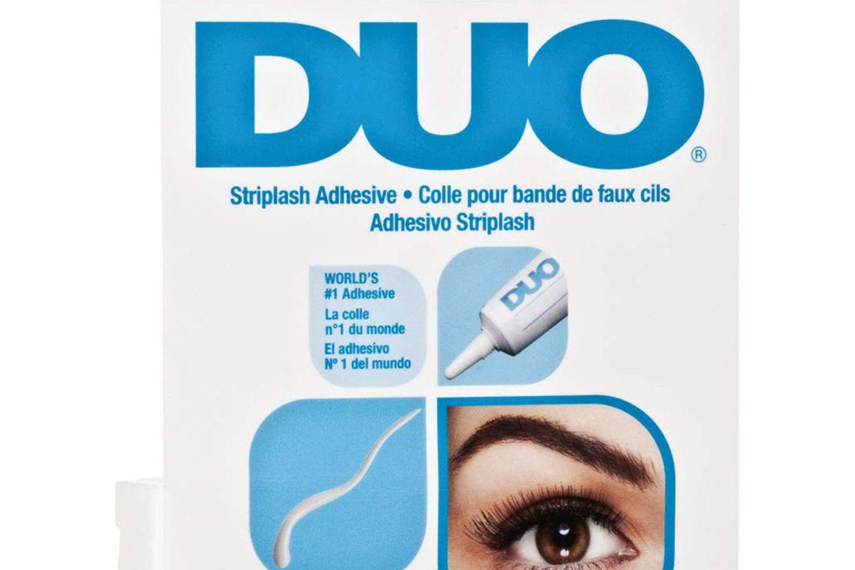 duo strip lash adhesive white clear for strip false eyelash