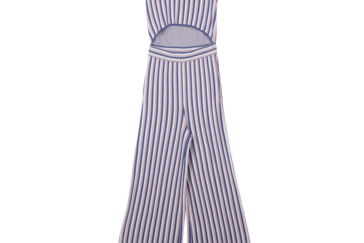 Esma Sleeveless Jumpsuit with Front Cut Outs