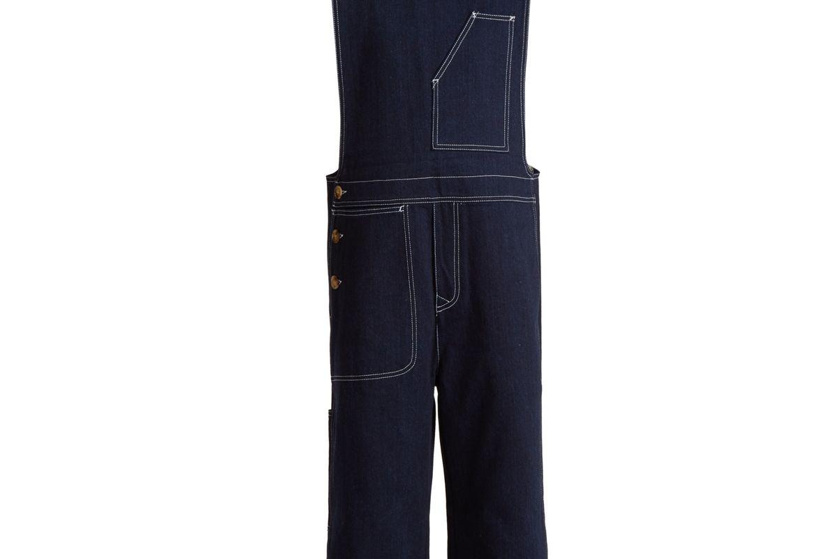 Tegel Oversized Japanese-denim Jumpsuit