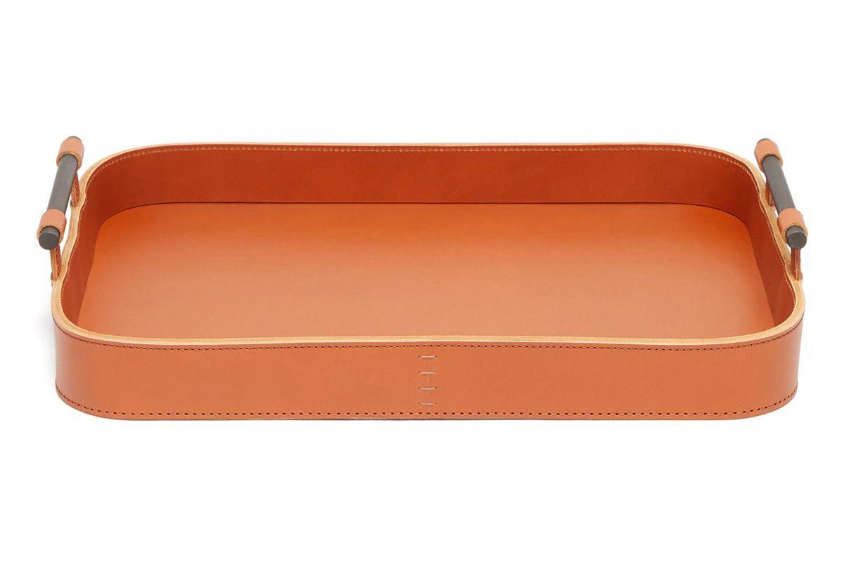 rabitti 1969 portofino small leather tray