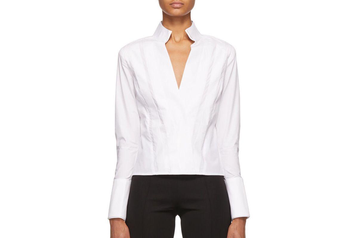 gauge81 white crete shirt