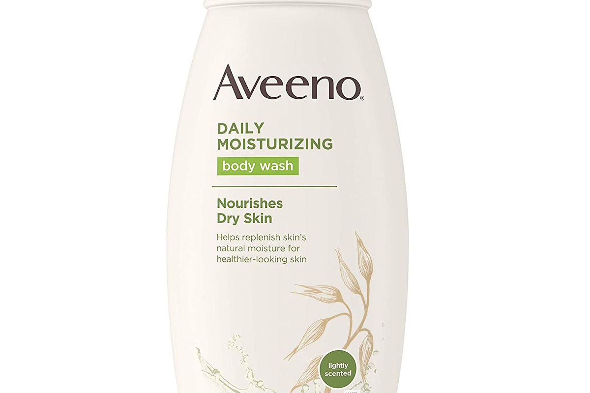 aveeno daily moisturizing body wash for dry skin with soothing oat and rich emollients