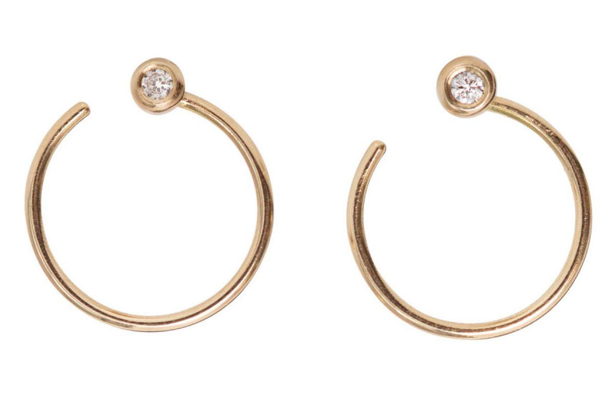 Diamond Ear Nut Earring