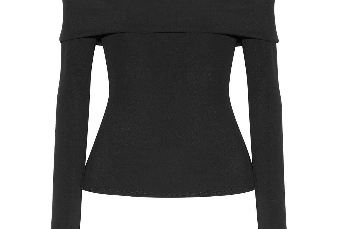 Derian Off-the-Shoulder Stretch-Jersey Top