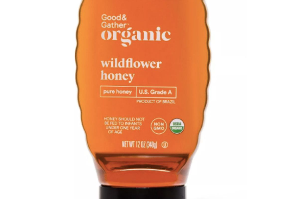 good and gather organic wildflower honey