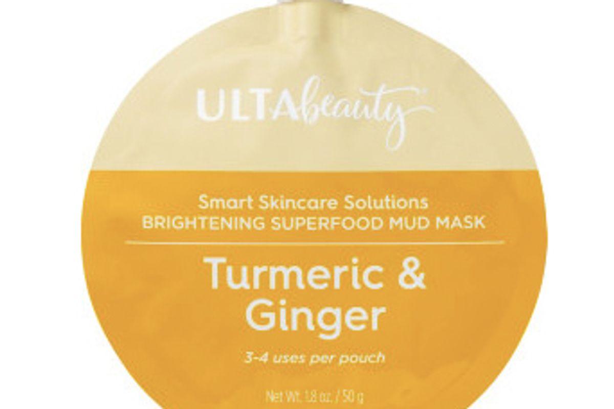 ulta turmeric and ginger brightening superfood mud mask