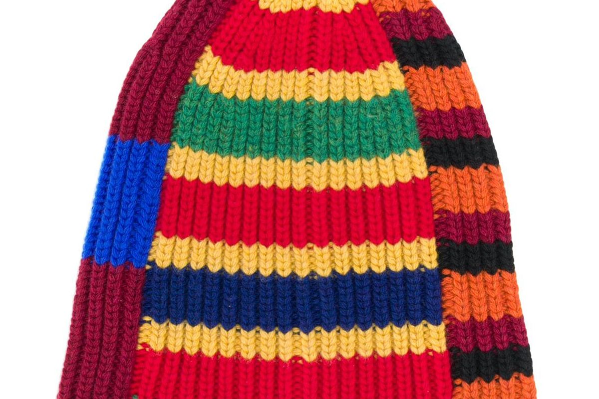 colville patchwork stripe beanie