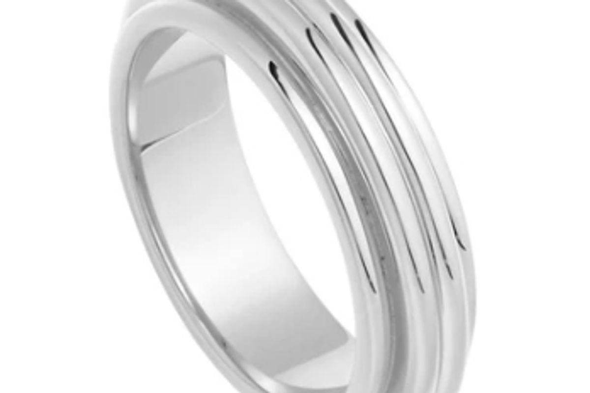missoma lucy williams silver ridge ring
