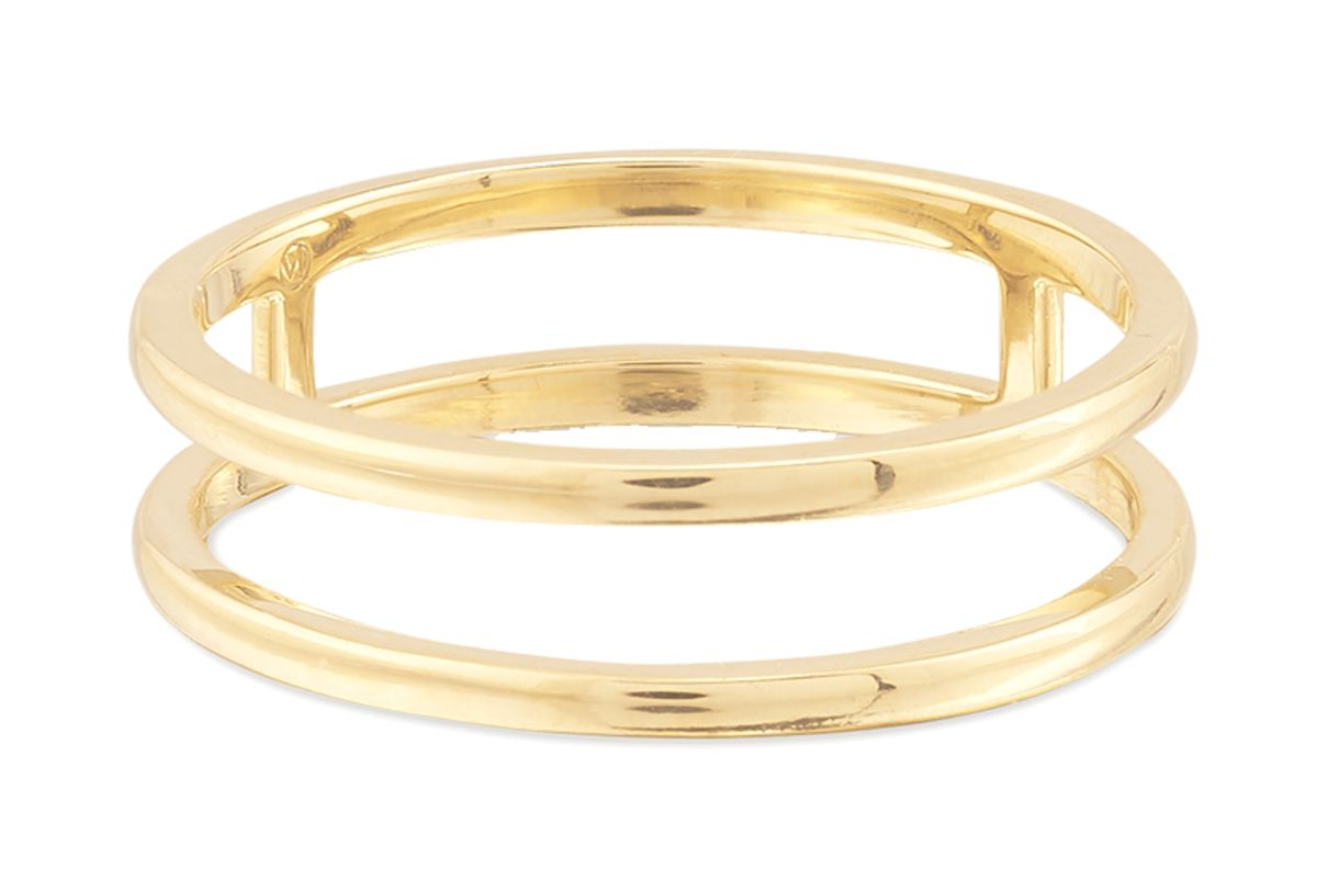 mejuri double line ring