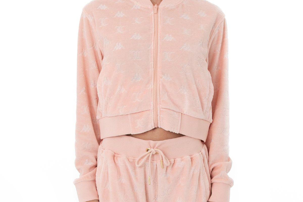 juicy couture elasi velour jacket