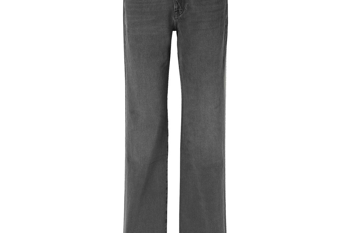 frame le jane high rise straight leg jeans