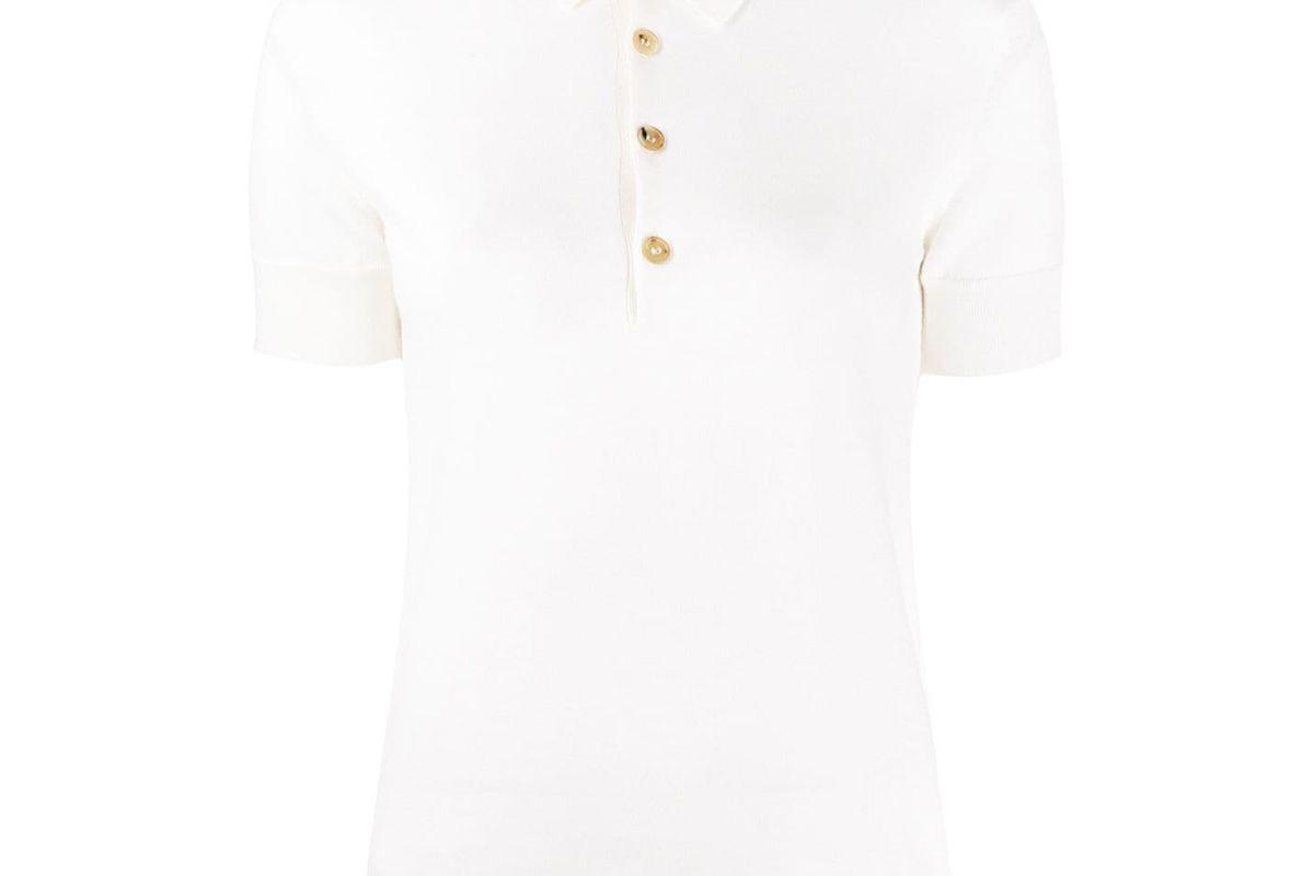 ralph lauren short sleeved cashmere polo