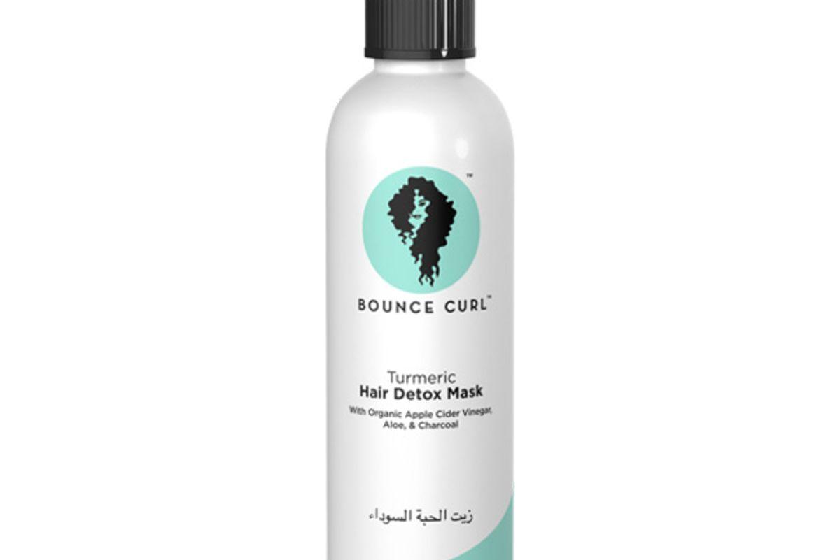 bounce curl turmeric hair detox