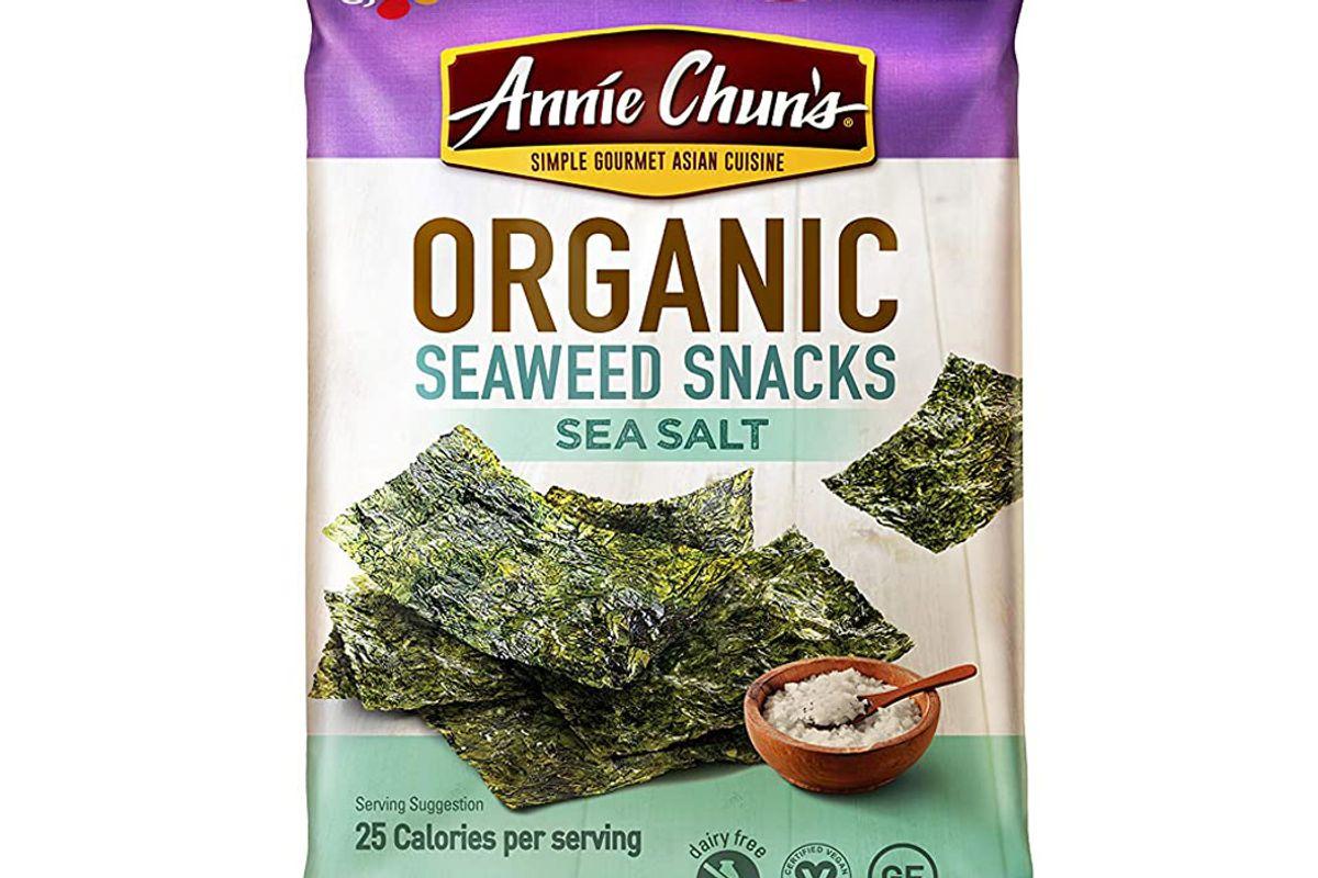 annie chuns organic seaweed sea salt