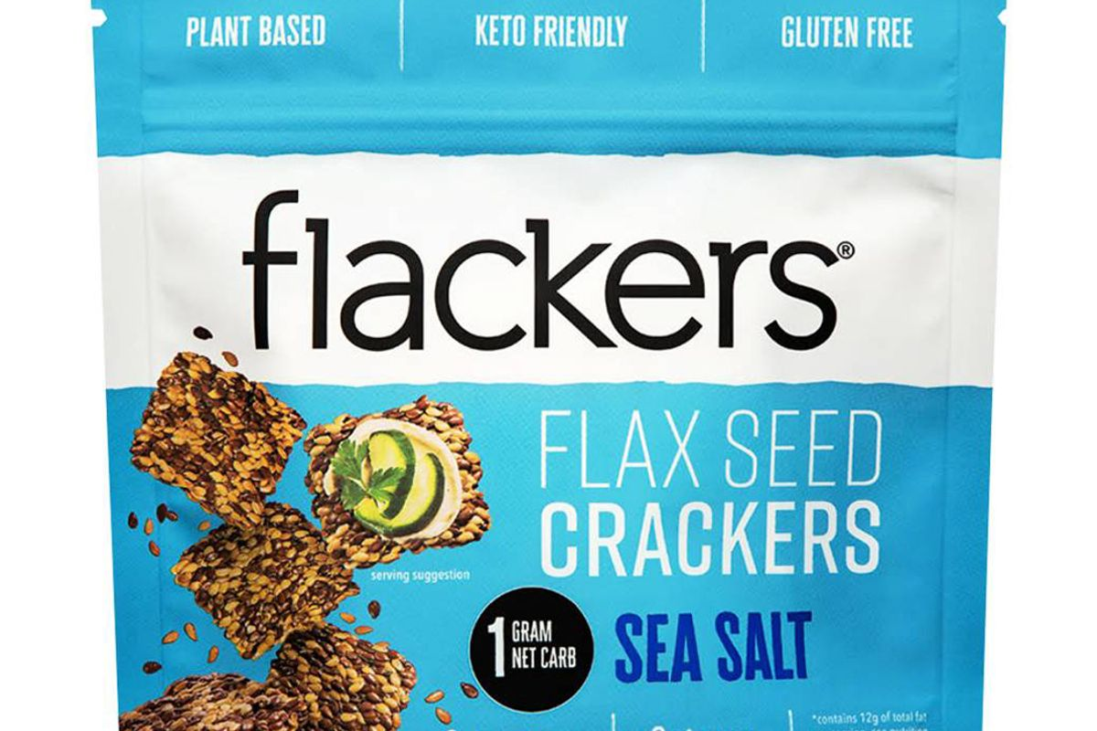 doctor in the kitchen flackers sea salt flax seed crackers