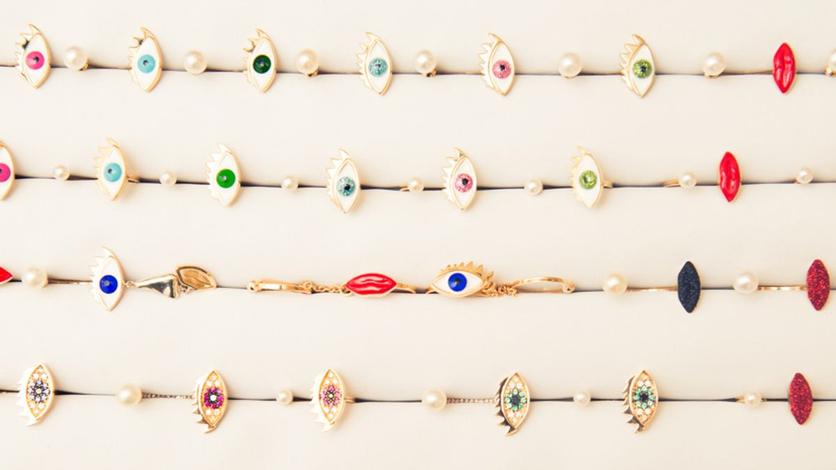 shop colorful statement earrings