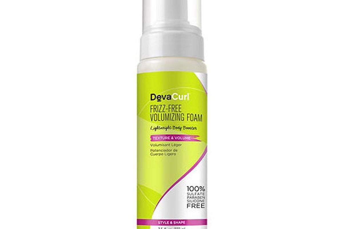 devacurl frizz free volumizing foam