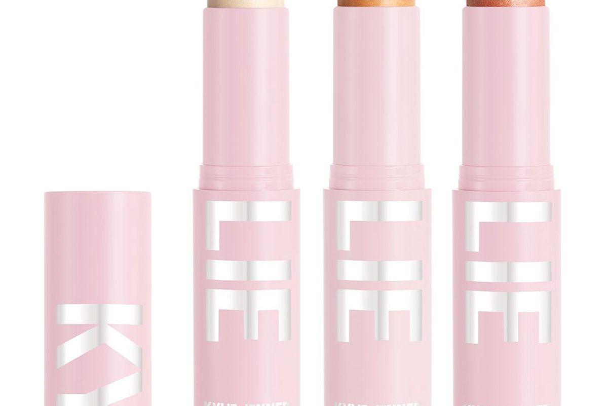 kylie cosmetics kylight stick trio