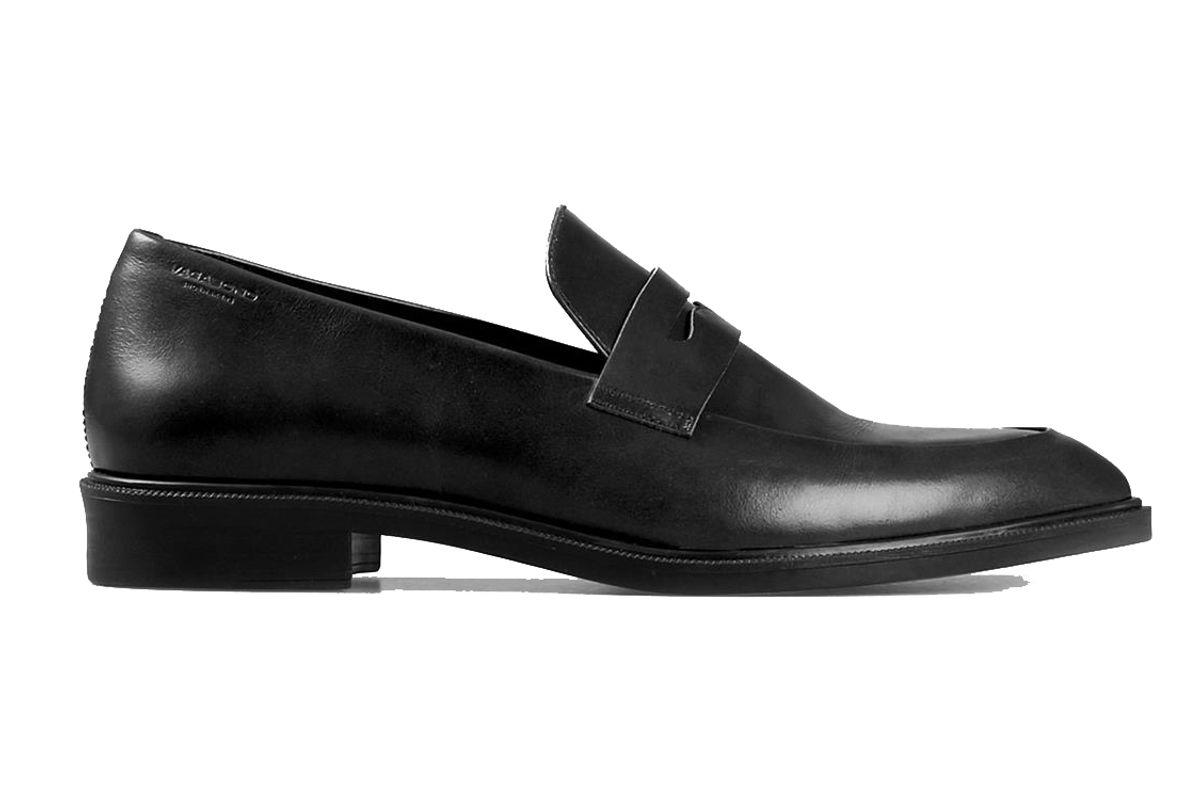 vagabond frances black leather shoes