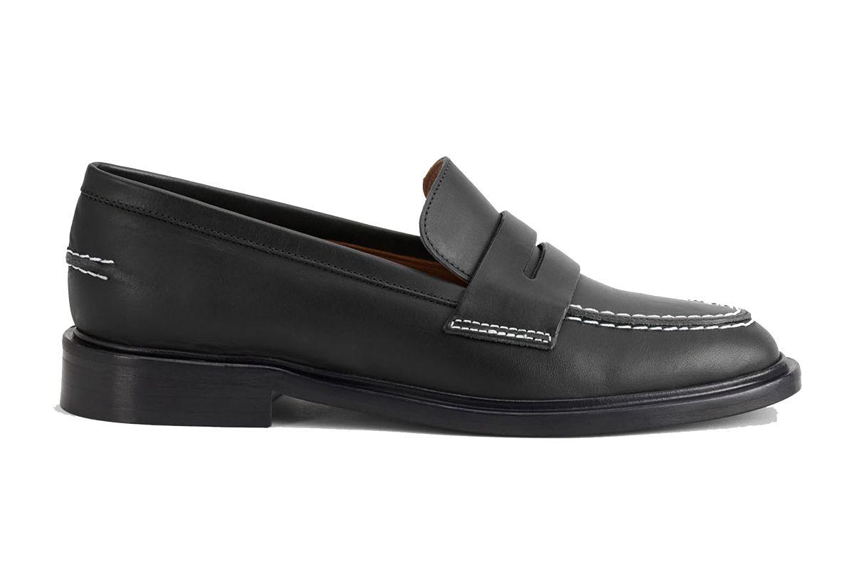 atp atelier monti black loafers