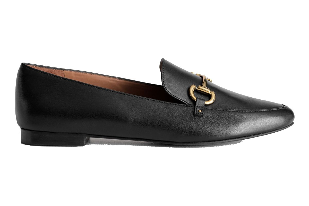 and other stories equestrian buckle loafers