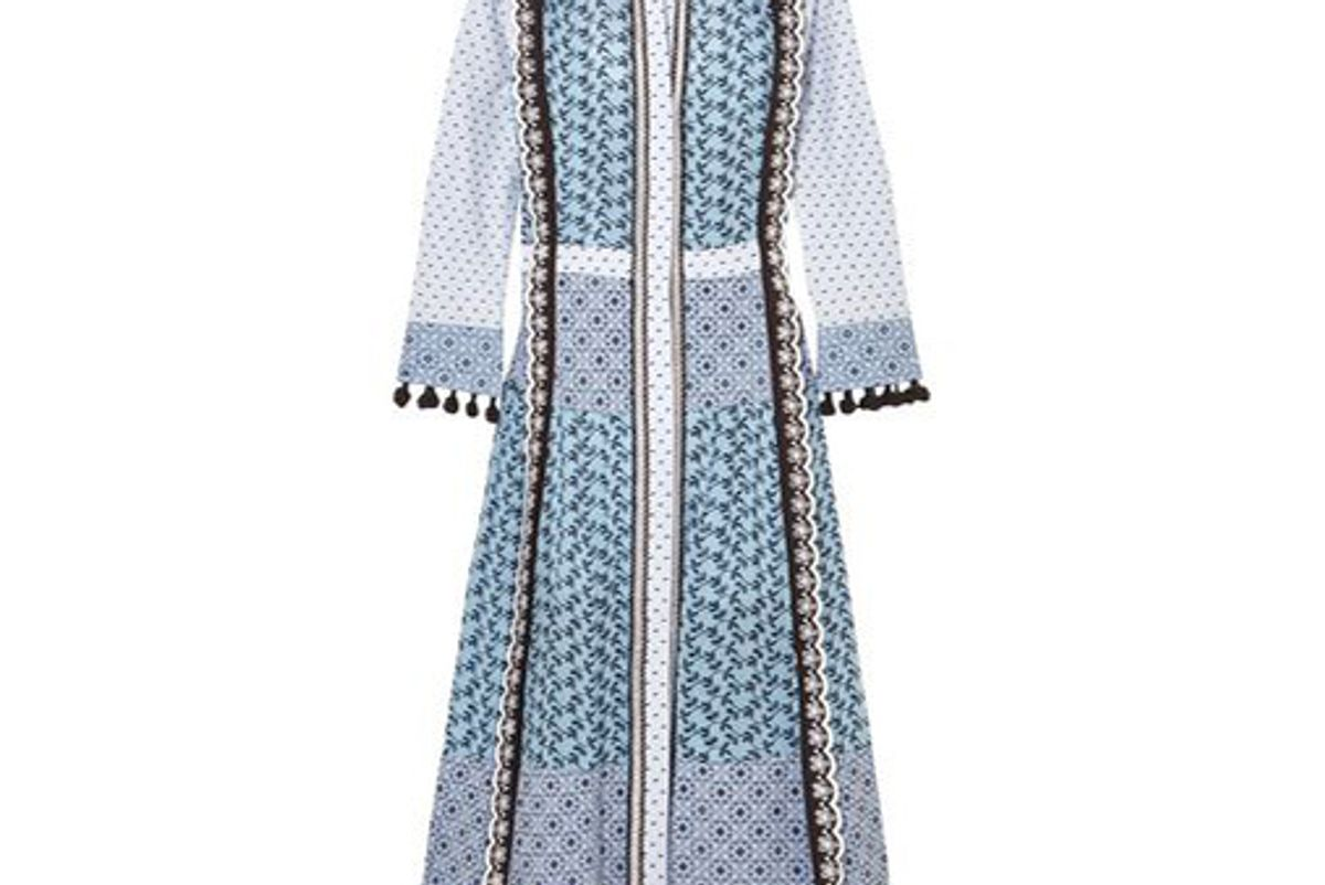 altuzarra grenelle broderie anglaise and swiss dot cotton midi dress