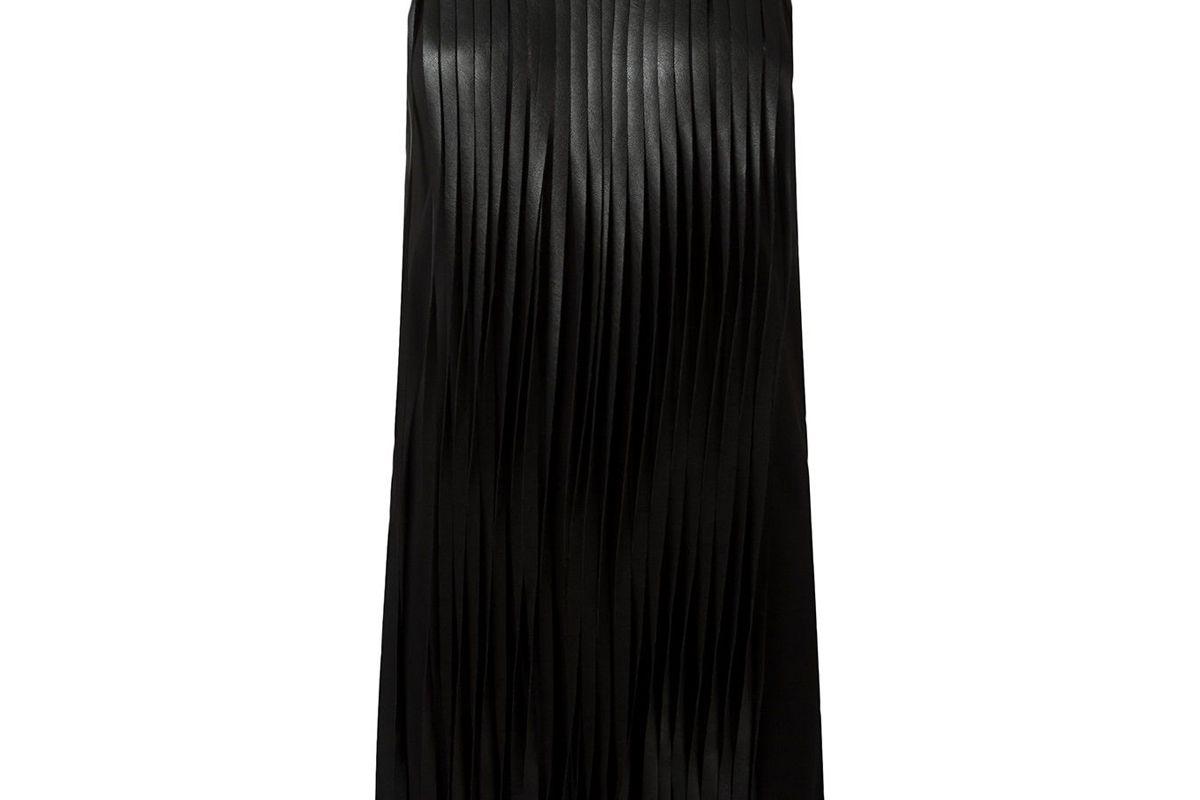 neil barrerr fridnged dress