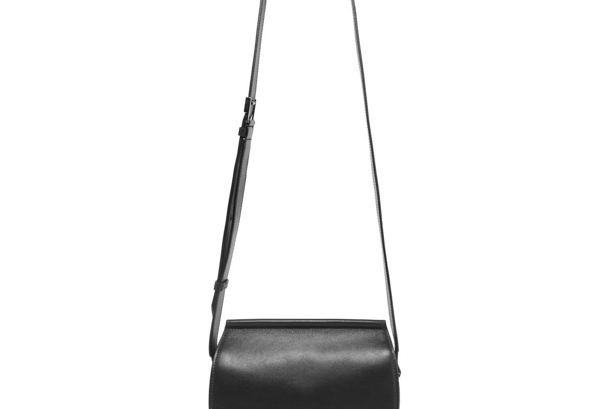 givenchy infinity mini chain trimmed leather shoulder bag