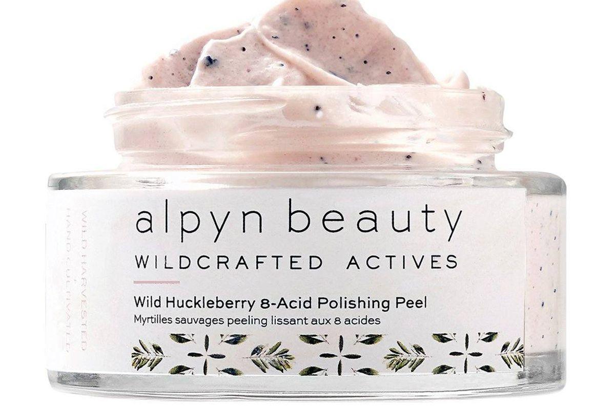 alpyn beauty wild huckleberry 8 acid polishing peel