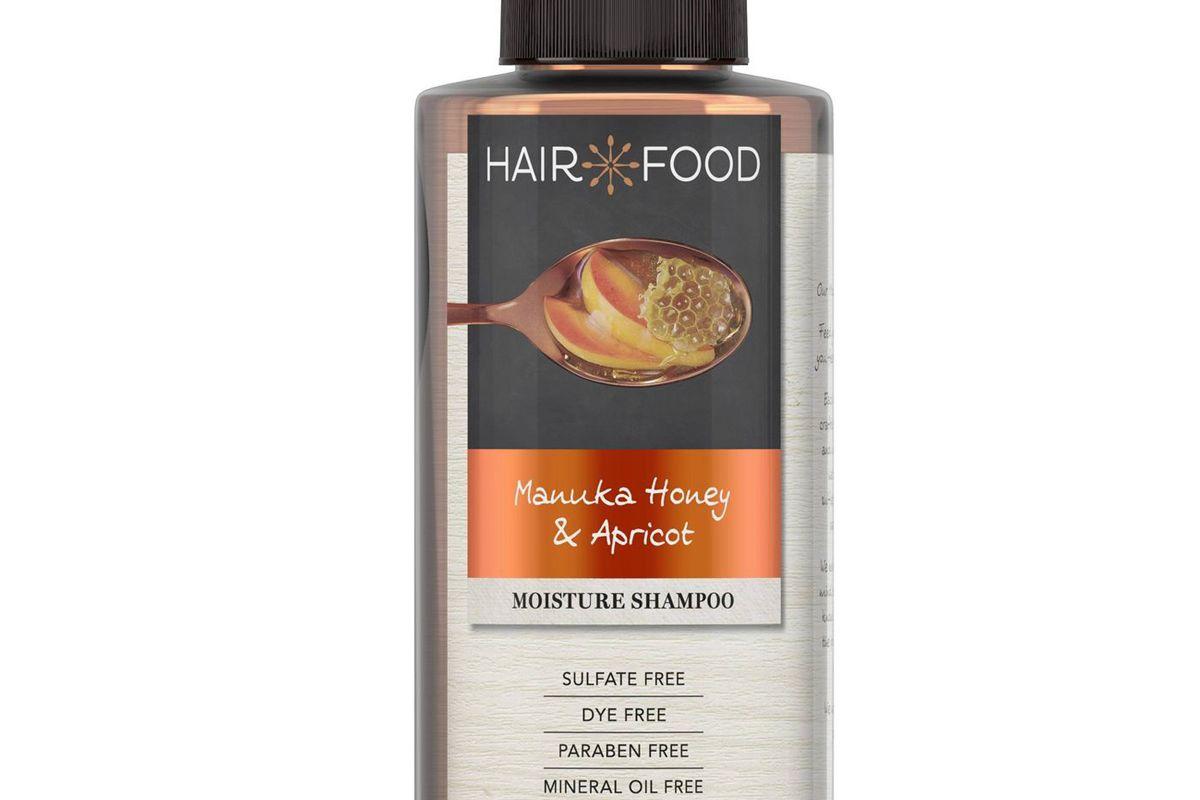 hair food manuka honey and apricot sulfate free dye free moisturizing shampoo