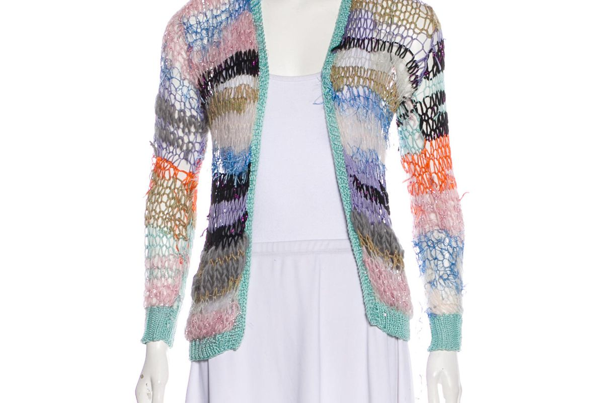 rodarte lightweight knit cardigan