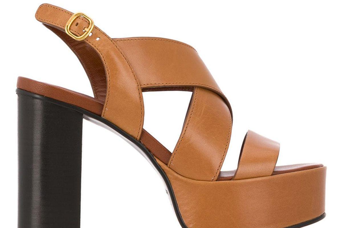 see by chloe strappy platform high heel sandals