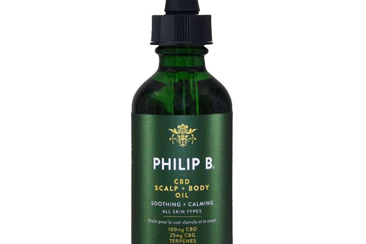 philip b cbd scalp and body oil