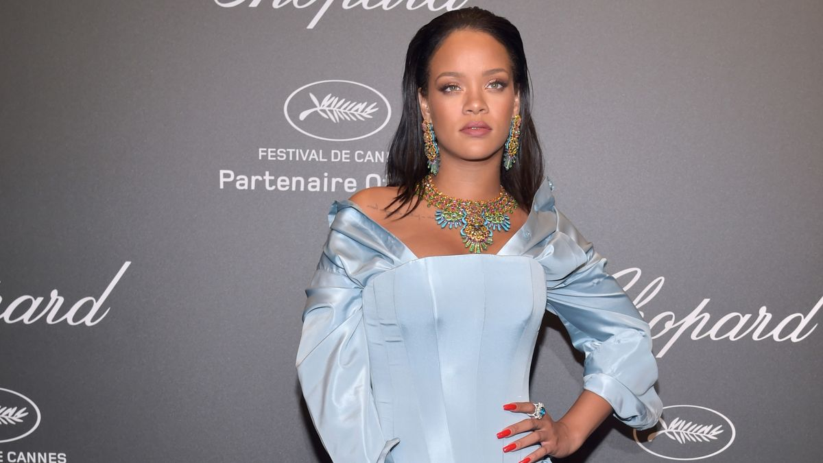 Leave It to Rihanna to Bring This '90s Trend to the Cannes Red Carpet