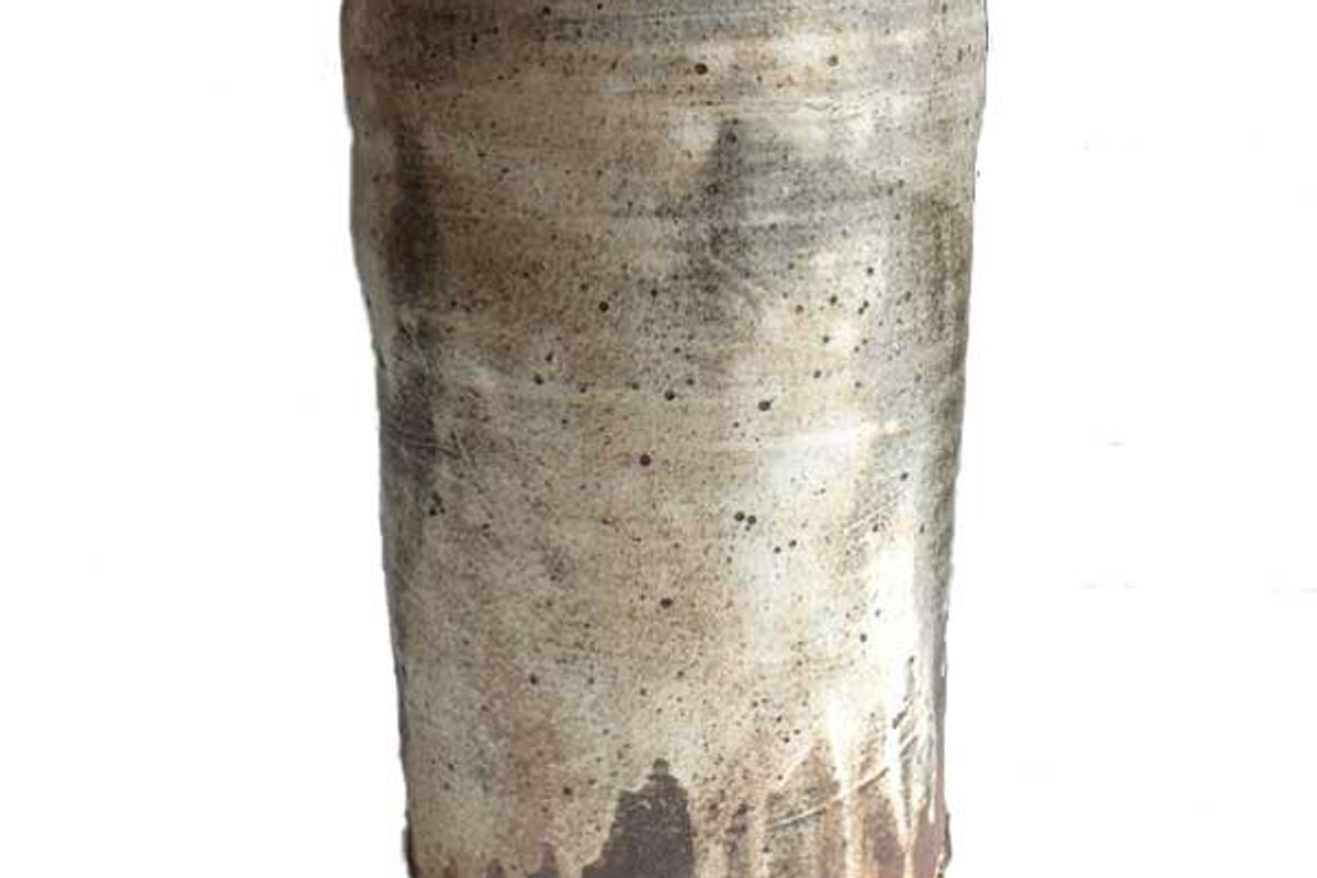 merry farm pottery tall vase