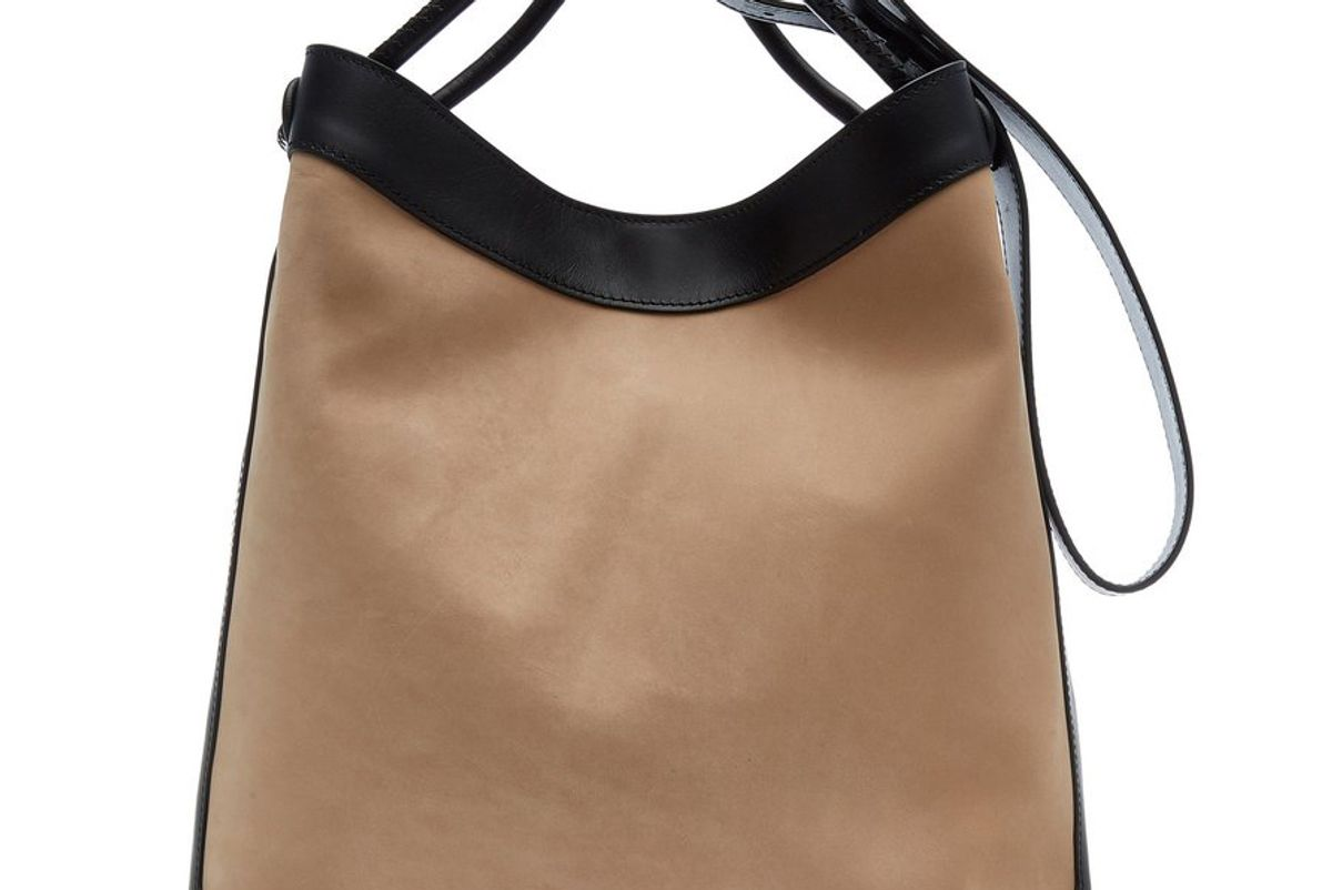 elleme vosges leather shoulder bag