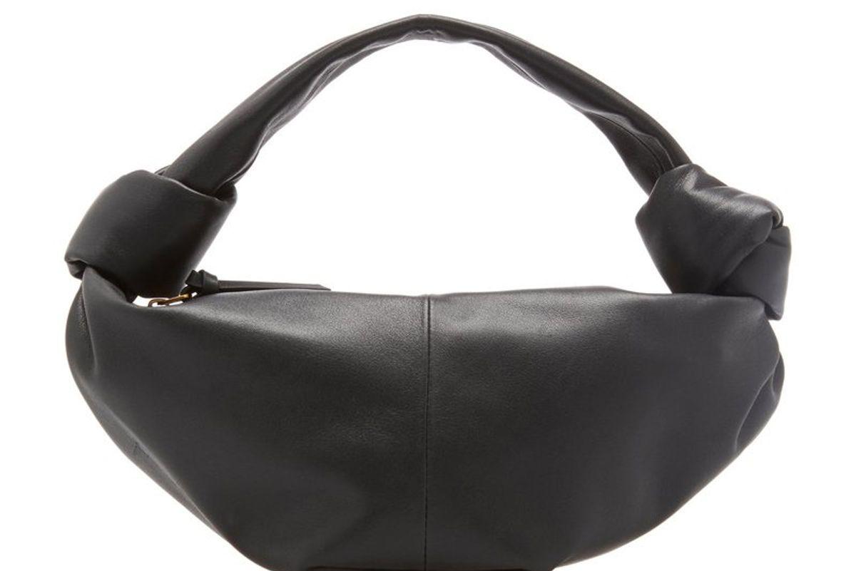 bottega veneta zip mini leather top handle bag