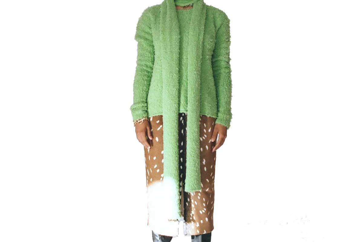 frs annie knit sweater and scarf set