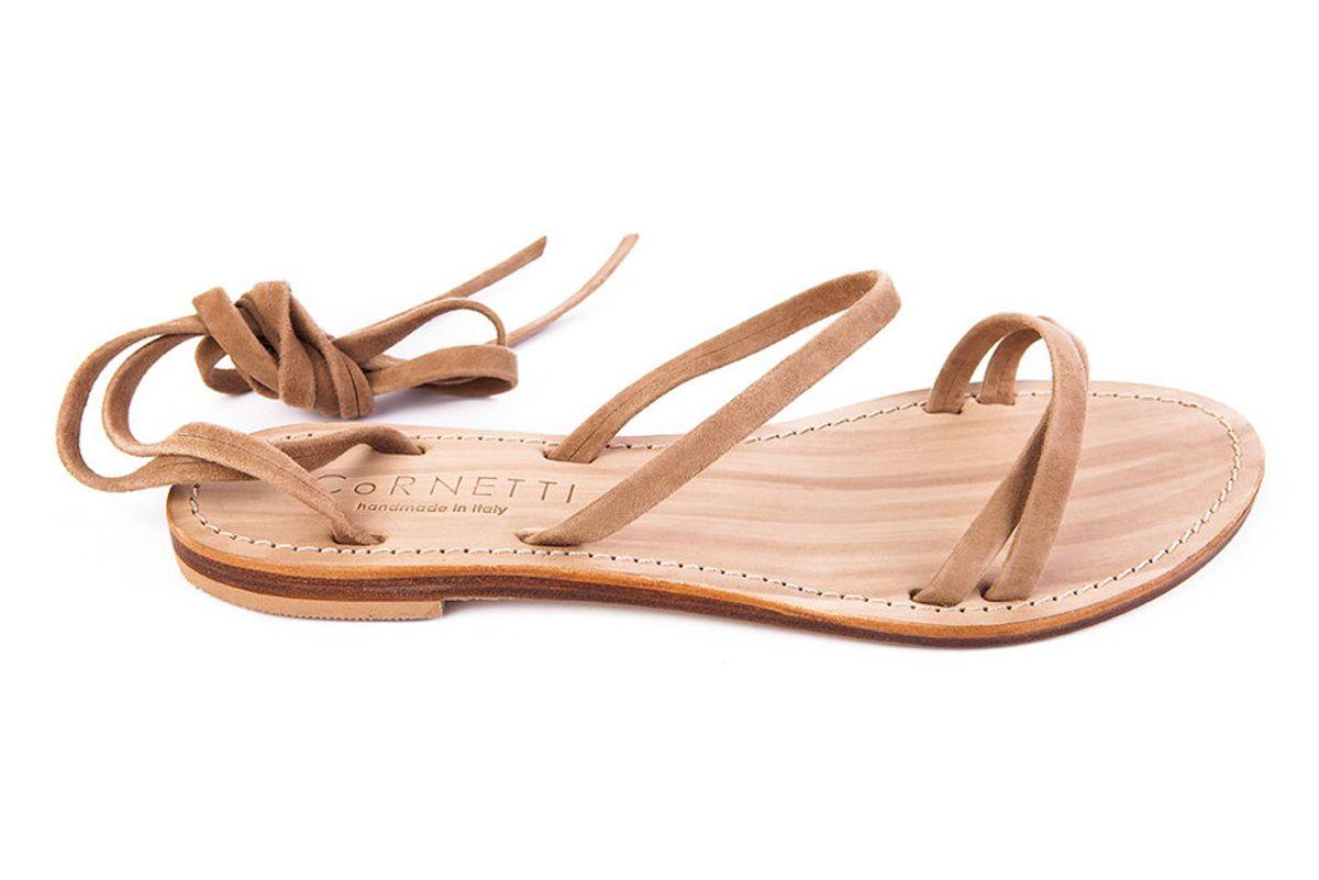 cornetti caruso wrap sandal