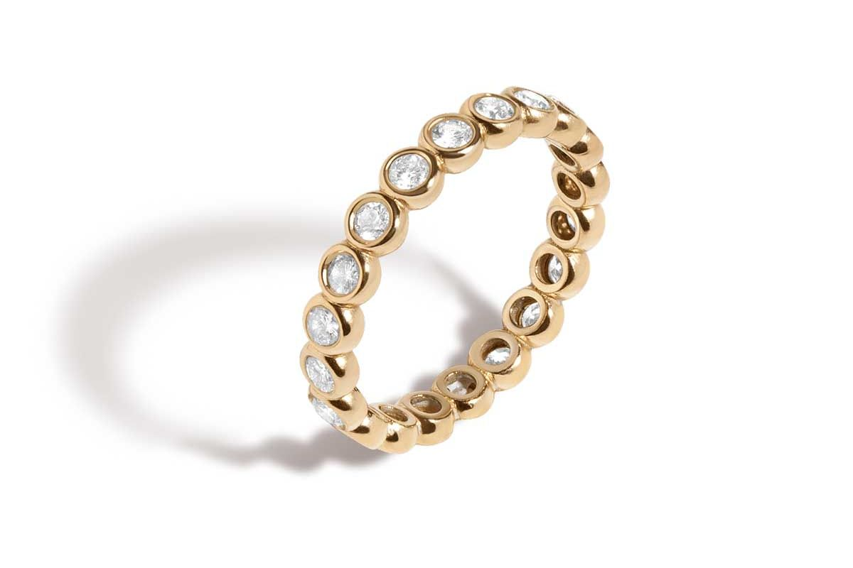 aurate diamond eternity ring