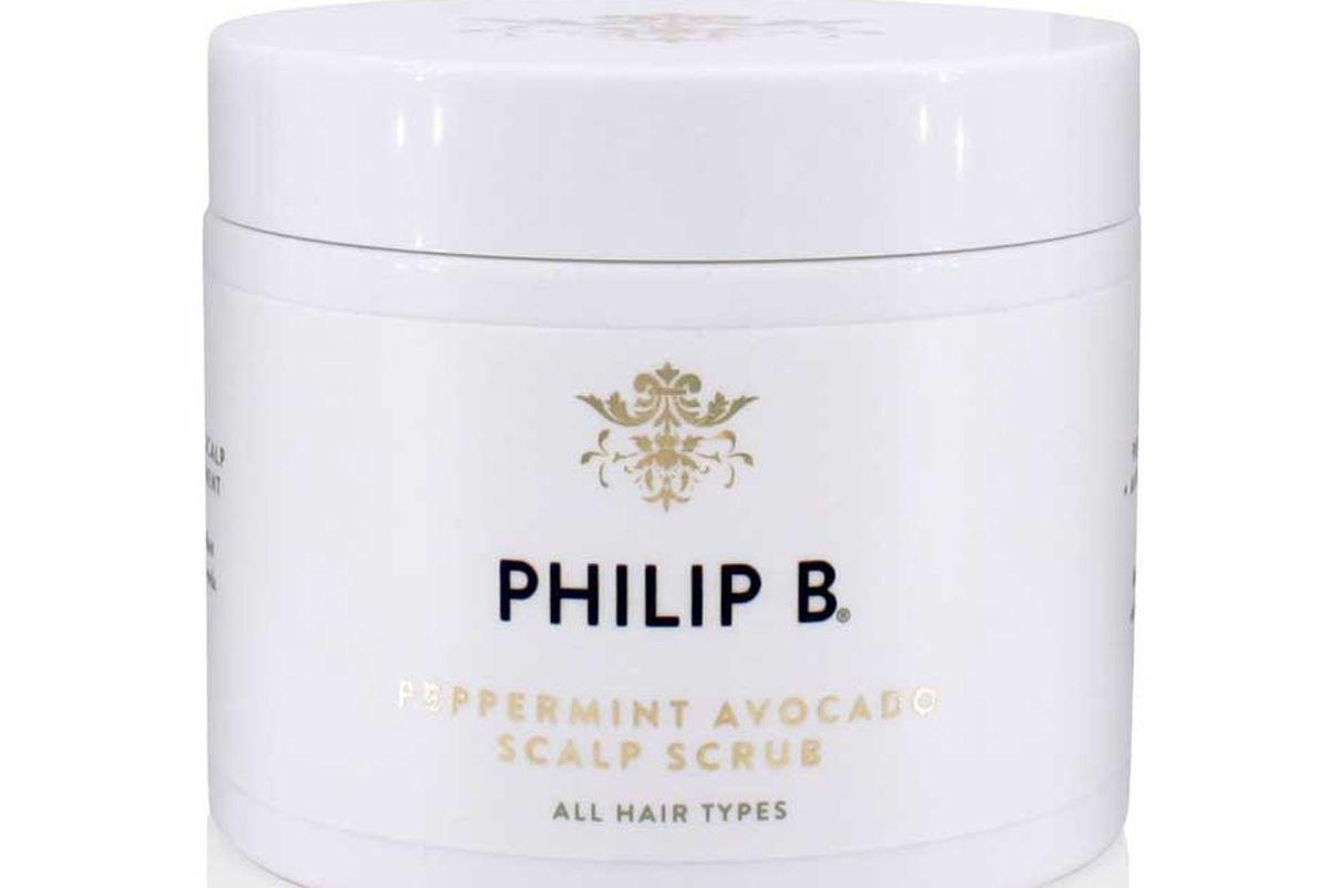 philip b peppermint avocado scalp scrub