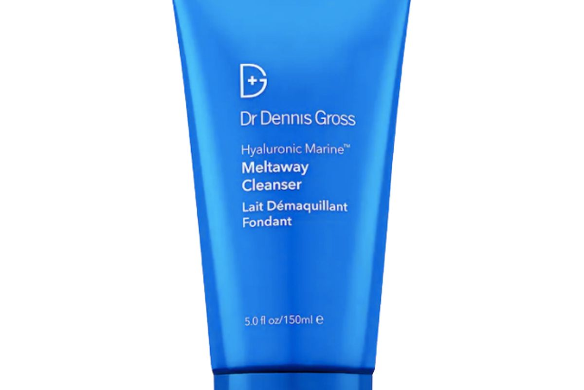dr dennis gross hyaluronic marine makeup removing meltaway cleanser