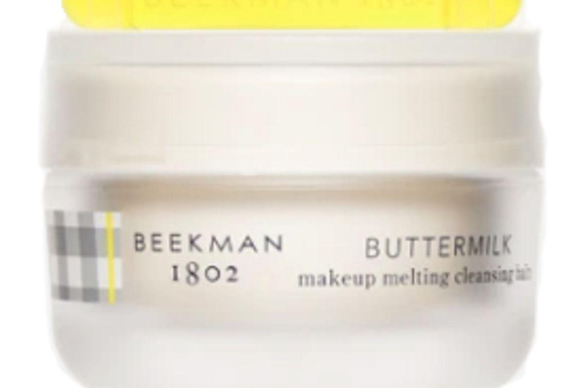 beekman 1802 buttermilk makeup melting cleansing balm