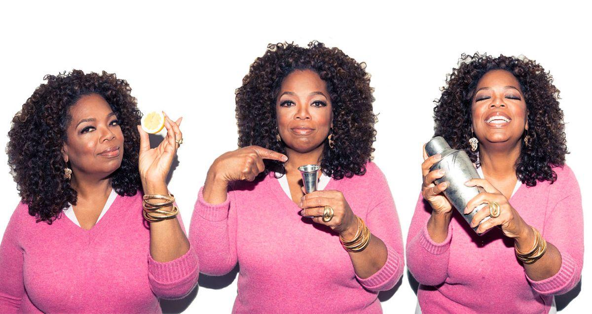 Oprah Makes Us Her Favorite Cocktail